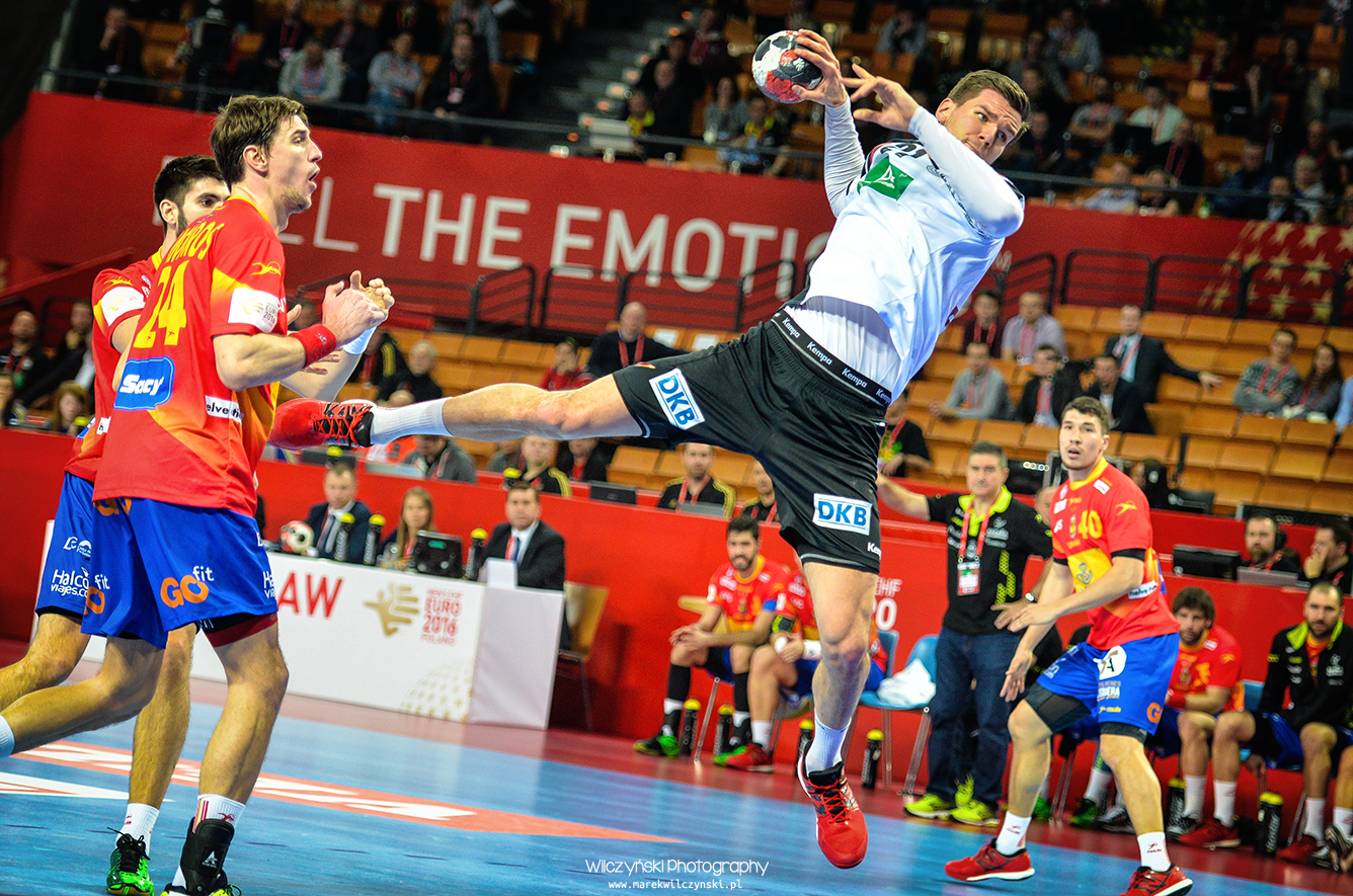 Men's EHF Euro 2016 Poland - Spain vs Germany