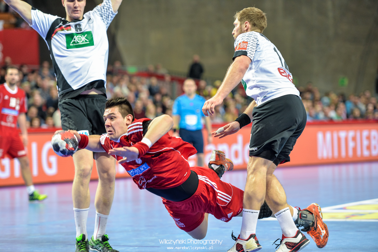 Men's EHF Euro 2016 Poland – Germany vs Hungary