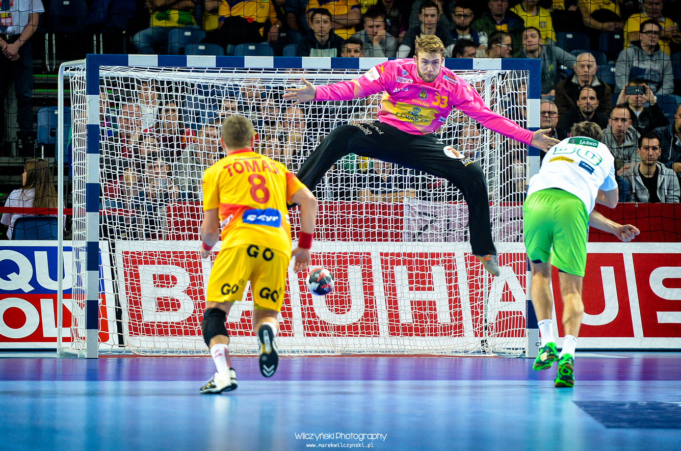 Men's EHF Euro 2016 Poland – Spain vs Slovenia