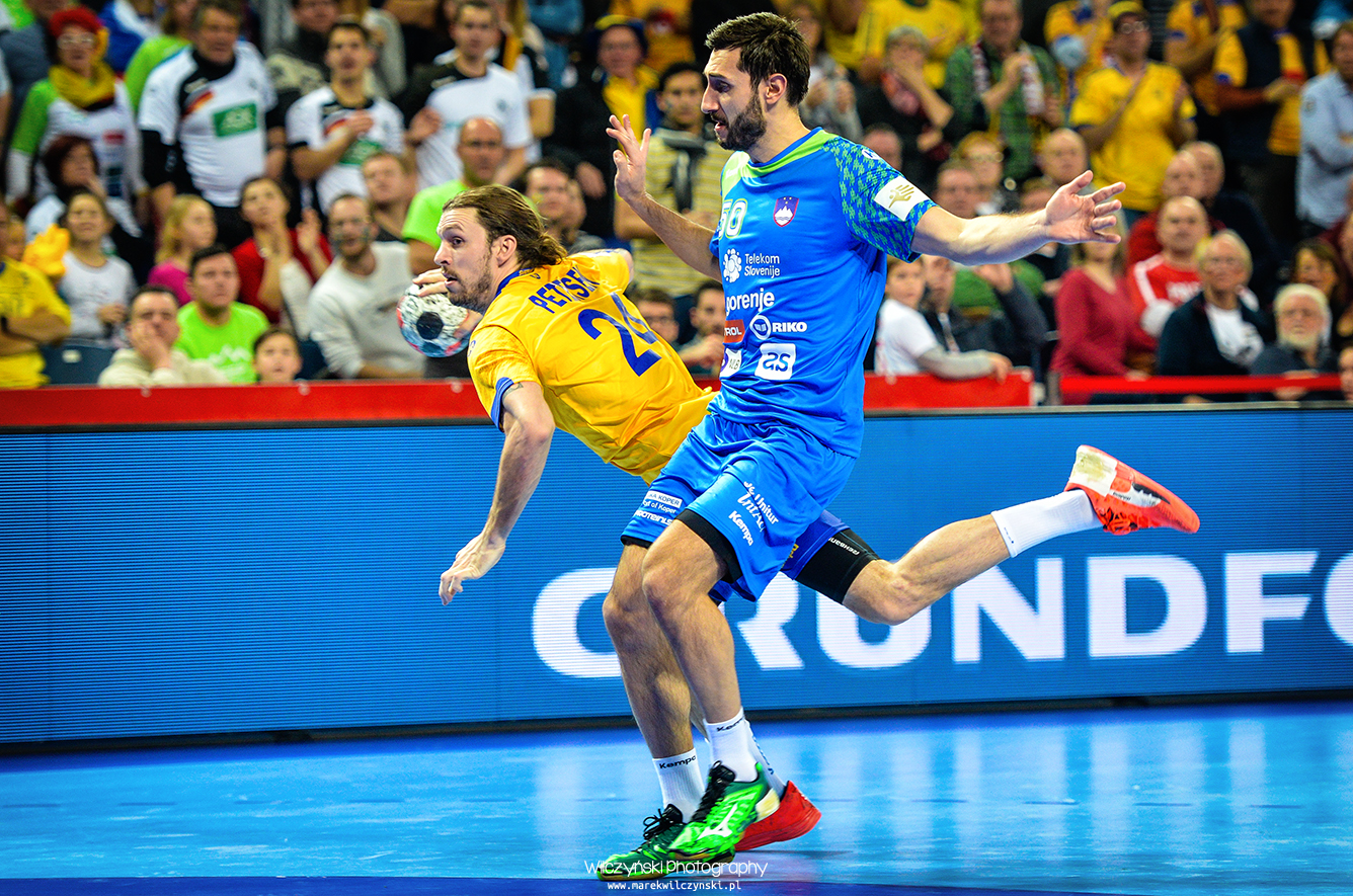 Men's EHF Euro 2016 Poland - Sweden vs Slovenia